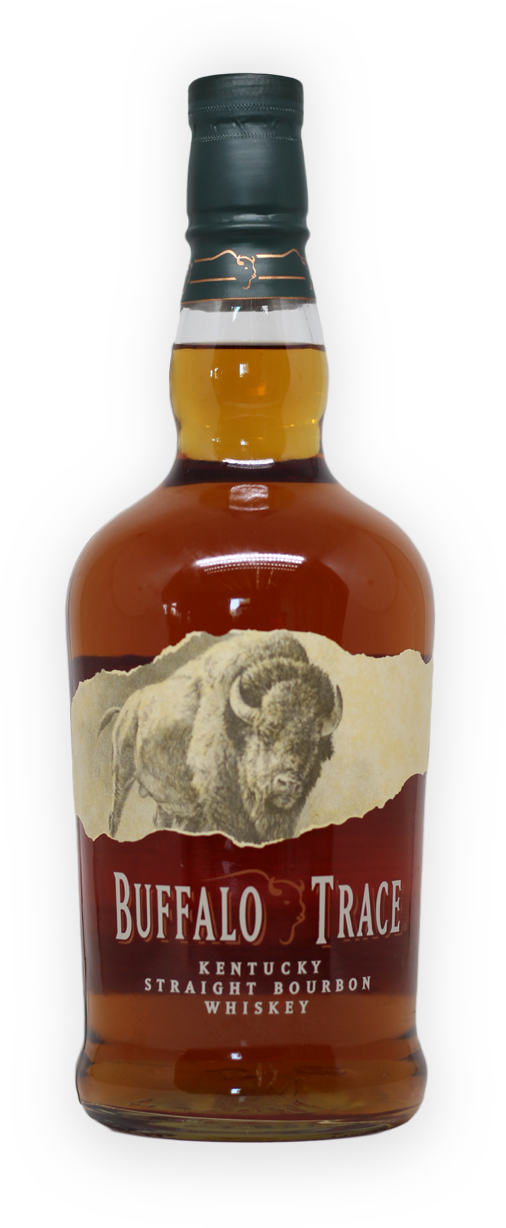 Bottle of Buffalo Trace Bourbon