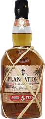 Bottle of Plantation 5 Year Rum