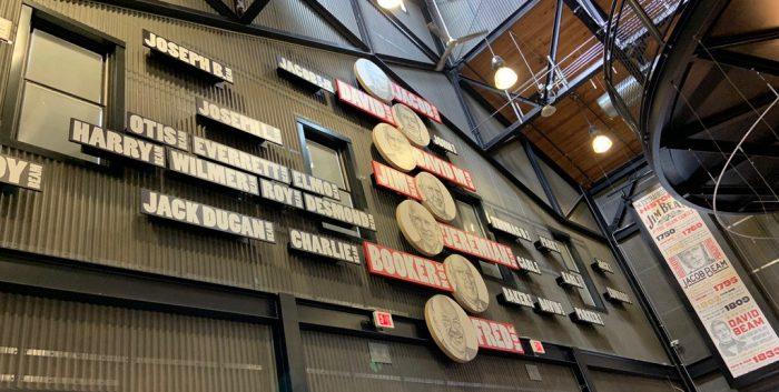 Jim Beam Master Distiller List at the Jim Beam Distillery.