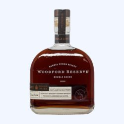 A bottle of Woodford Reserve Double Oaked